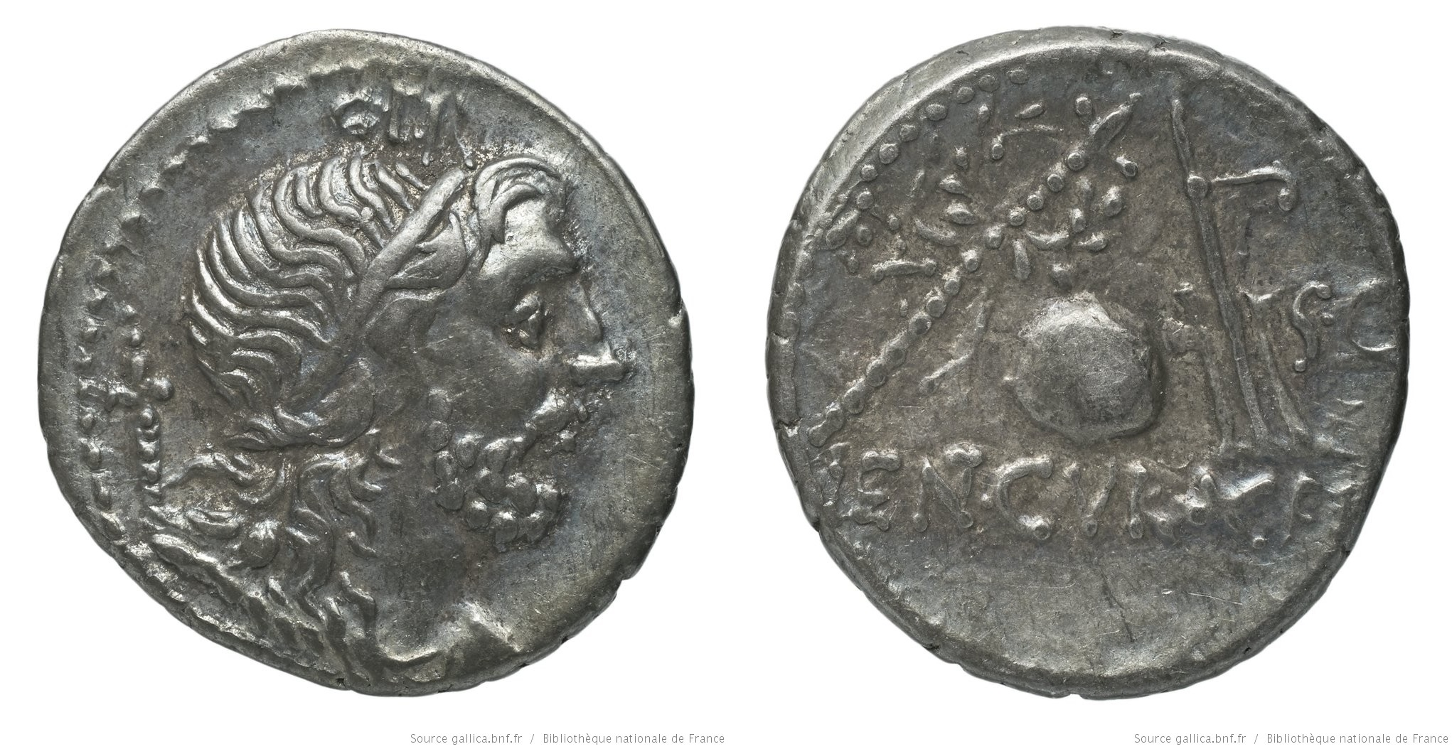 1335CO – Denier Cornelia – Cnæus Cornelius Lentulus Marcellinus
