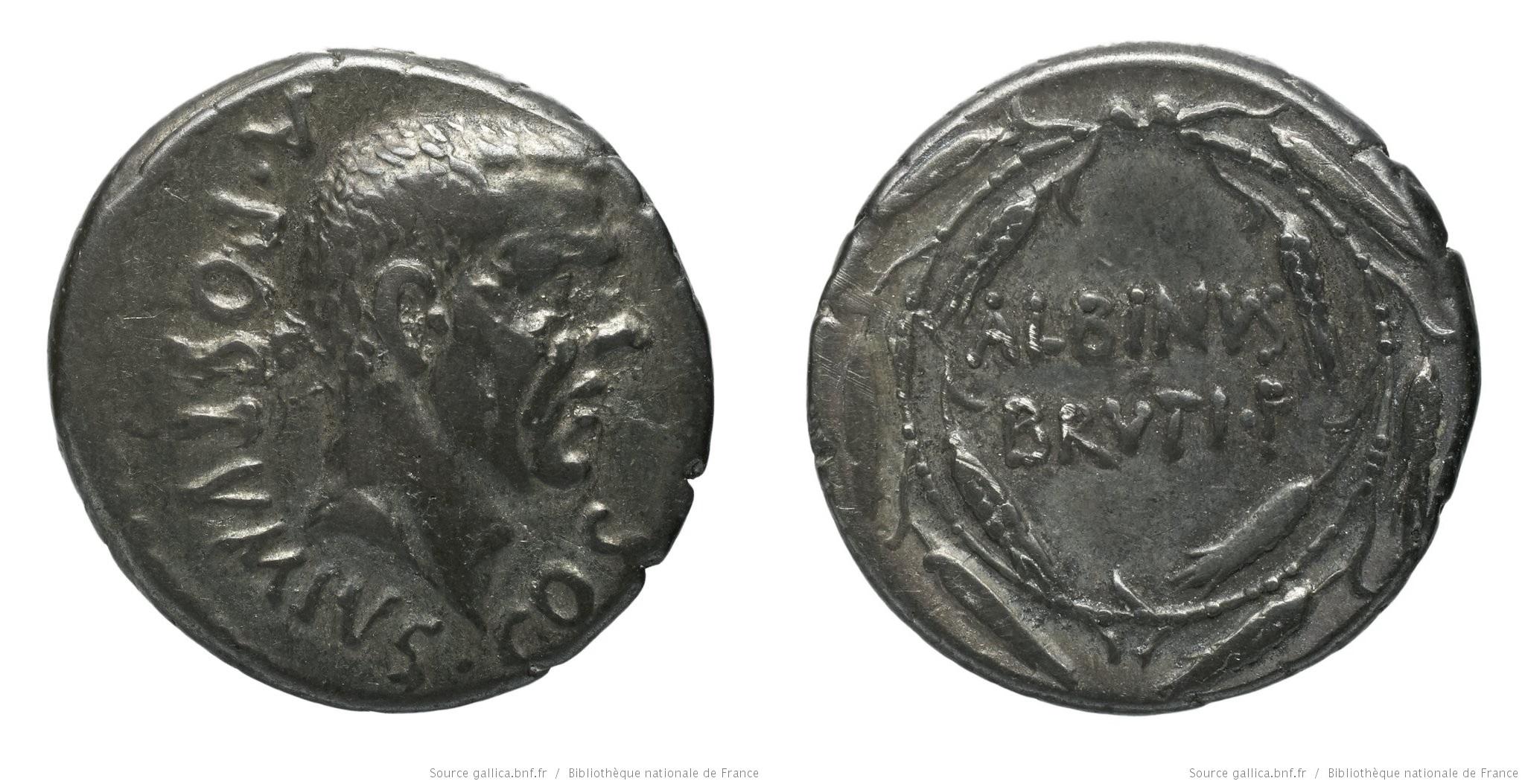 You are currently viewing 1441PO – Denier Postumia – Decimus Postumius Albinus
