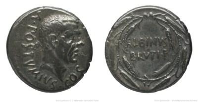 1441PO – Denier Postumia – Decimus Postumius Albinus