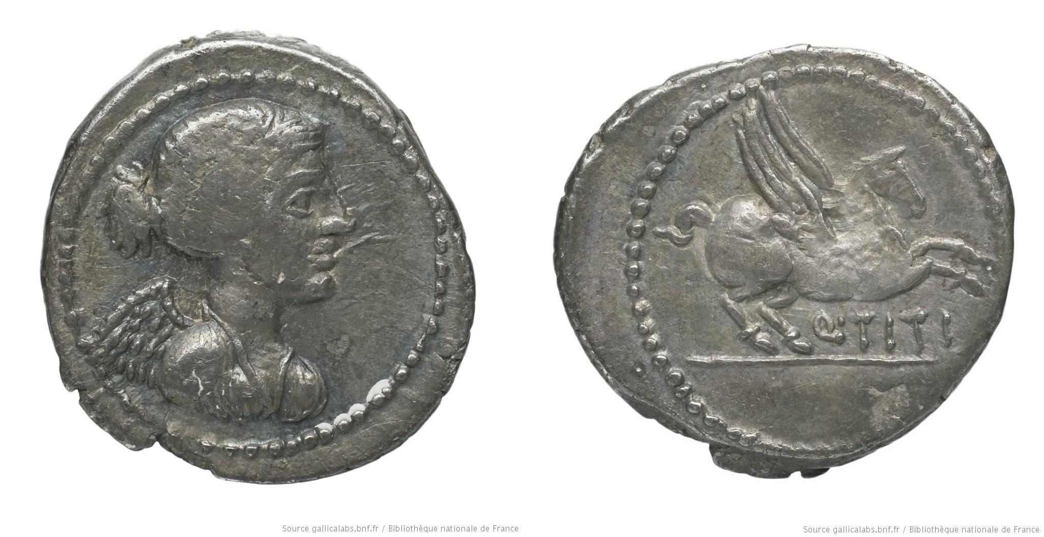 1214TI – Quinaire Titia – Quintus Titius