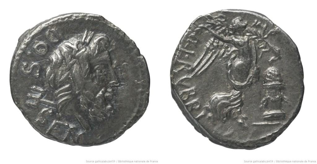 1253RU – Quinaire Rubria – Lucius Rubrius