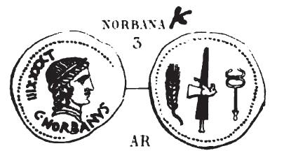 Denier Norbana _ RRC 357/1b