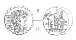 Denier Serratus Postumia