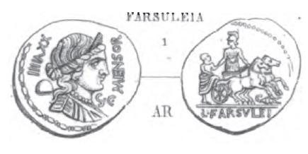 Denier Farsuleia _ RRC 392/1a