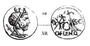Denier Cornelia _ RRC 393/1