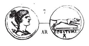 Denier Postumia _ RRC 394/1