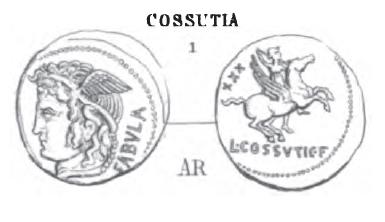 Denier Cossutia _ RRC 395/1