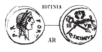 Denier Sicinia _ RRC 440/1