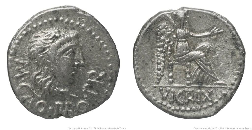 1470PO – Quinaire Porcia – Marcus Porcius Cato Uticensis