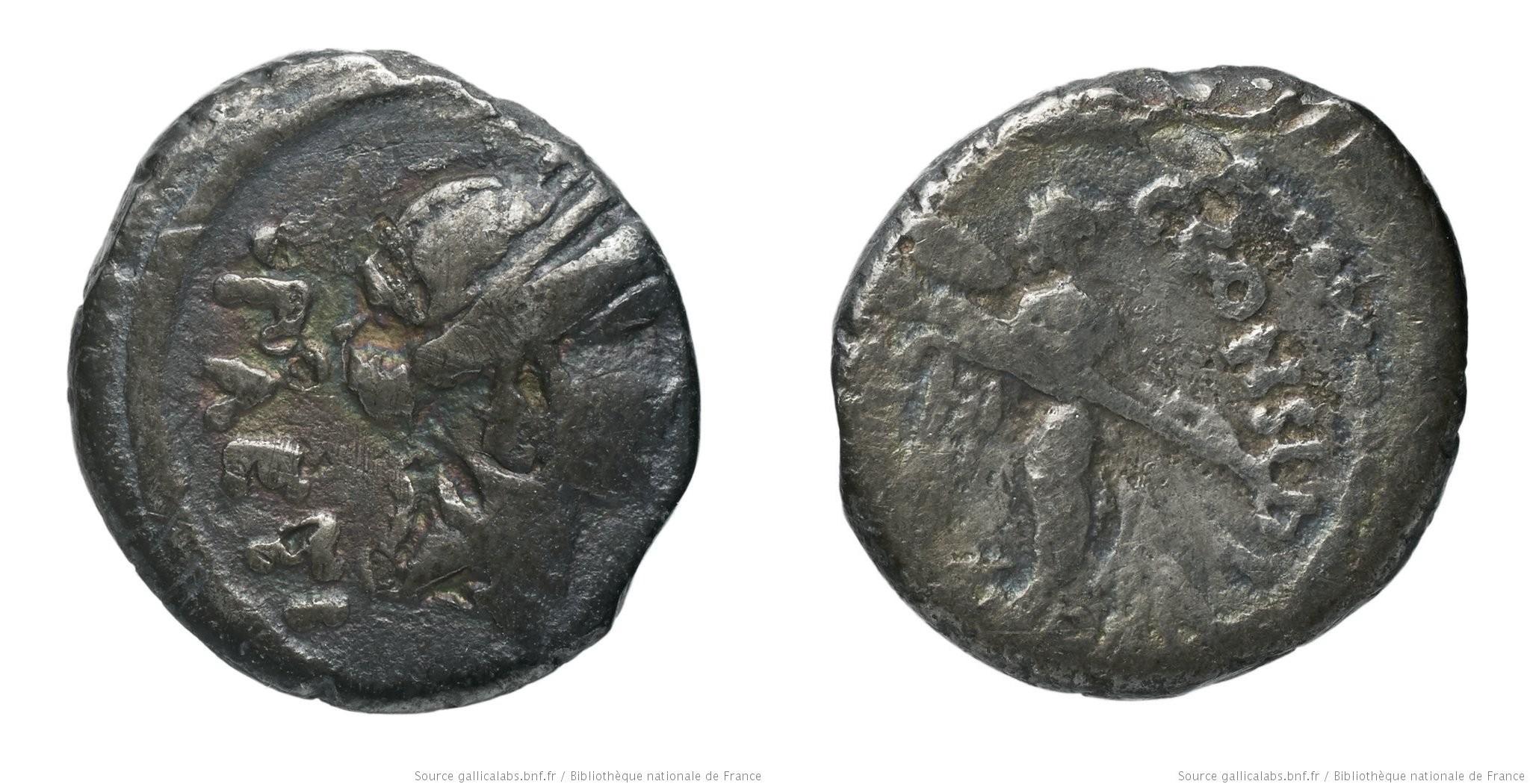 1488CO – Quinaire Considia _ Caius Considius Pætus