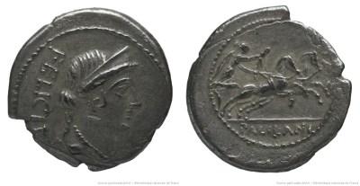 1505LO – Quinaire Lollia – Marcus Lollius Palicanus