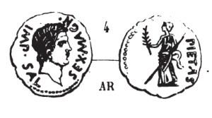 Denier Sextus Pompée _ RRC 477/1