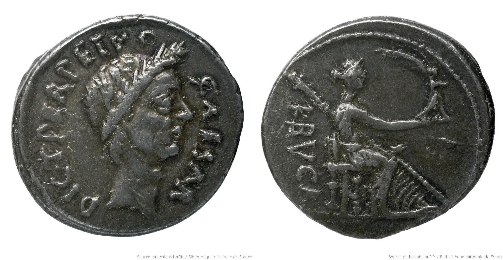 1530JU – Denier César – Lucius Aemilius Buca