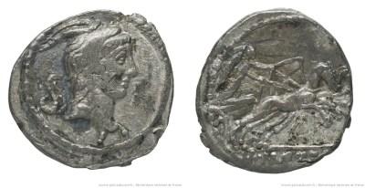 1544ME – Quinaire Mettia – Marcus Mettius