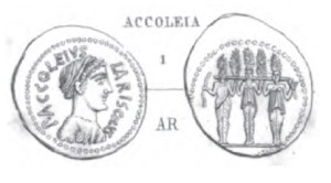 Denier Accoleia _ RRC 486/1