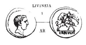Denier Livineia _ RRC 494/30