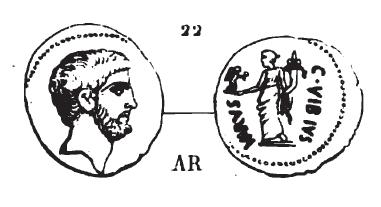 Denier Vibia et Marc Antoine _ RRC 494/32