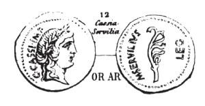 Aureus Cassius _ RRC 505/1