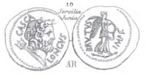 Denier Brutus _ RRC 507/2