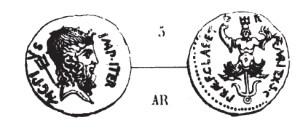 Denier Sextus Pompée _ RRC 511/2