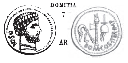 Denier Domitia _ RRC 532/1