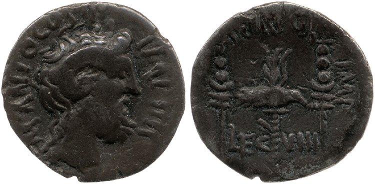 1799PI – Denier Pinaria – Lucius Pinarius Scarpus