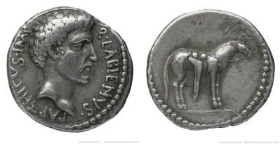 1707AT – Denier Labienus – Quintus Labienus Parthicus