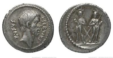 1679JU – Denier Brutus – Lucius Servius Rufus