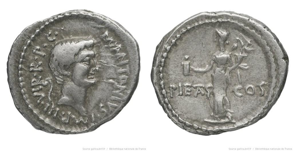 Read more about the article 1684AN – Denier Marc Antoine – Marcus Antonius