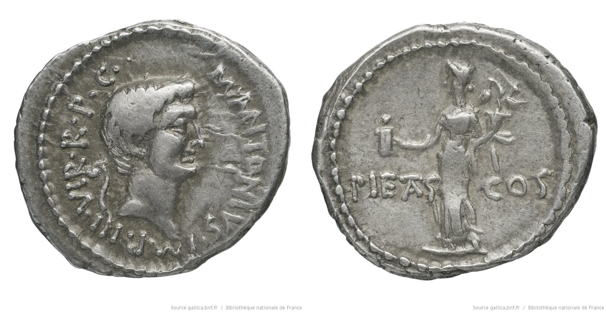1684AN – Denier Marc Antoine – Marcus Antonius