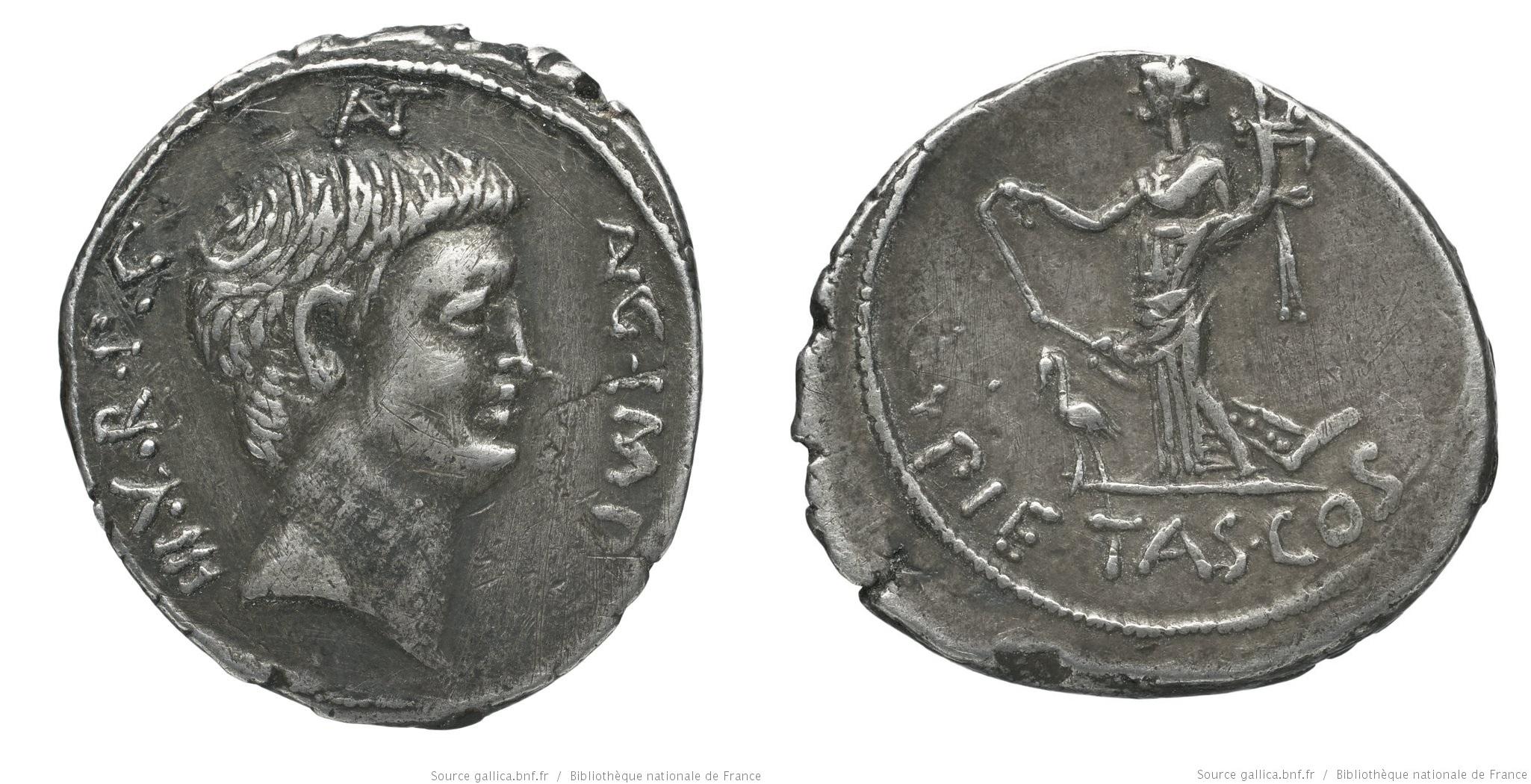 1681AN – Denier Marc Antoine – Marcus Antonius