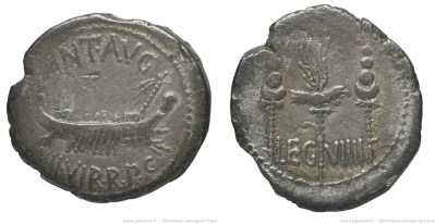 1772AN – Denier Marc Antoine – Marcus Antonius