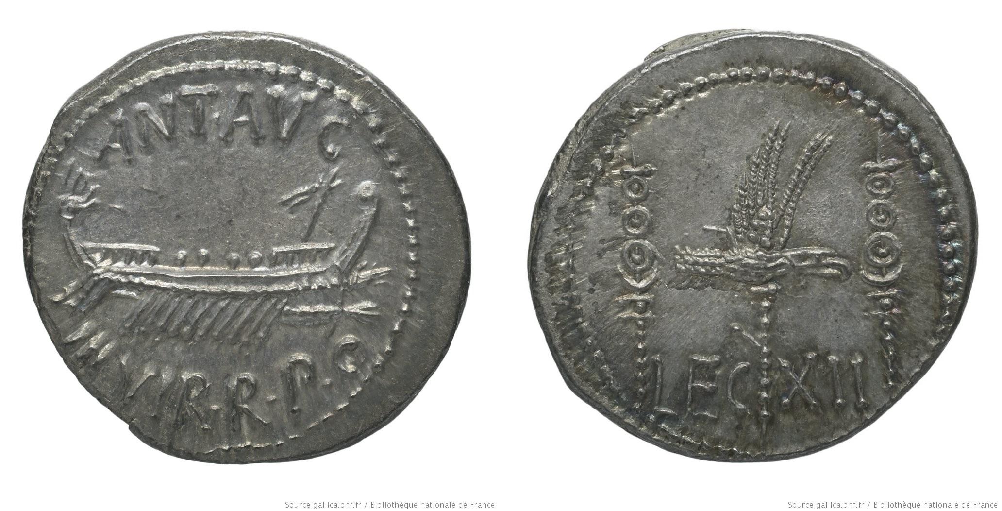 1776AN – Denier Marc Antoine – Marcus Antonius