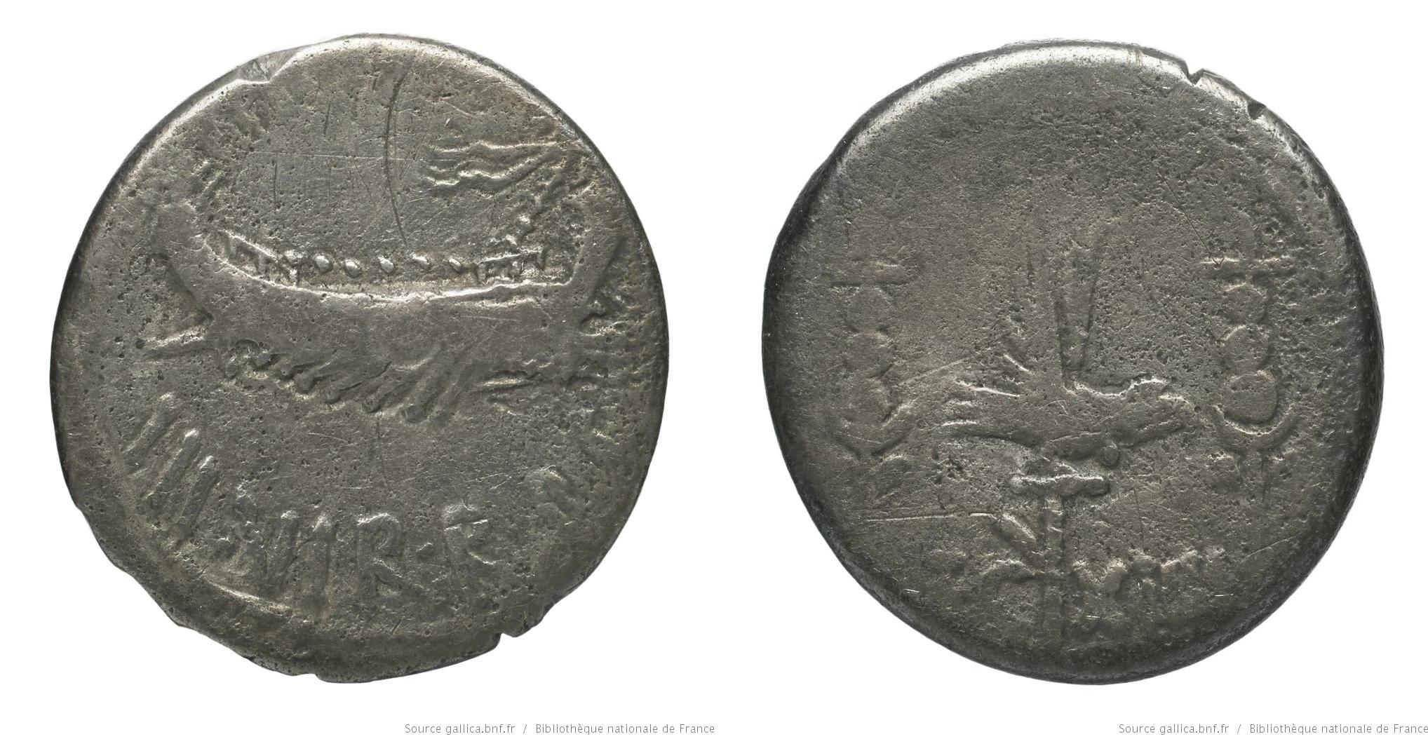 1778AN – Denier Marc Antoine – Marcus Antonius