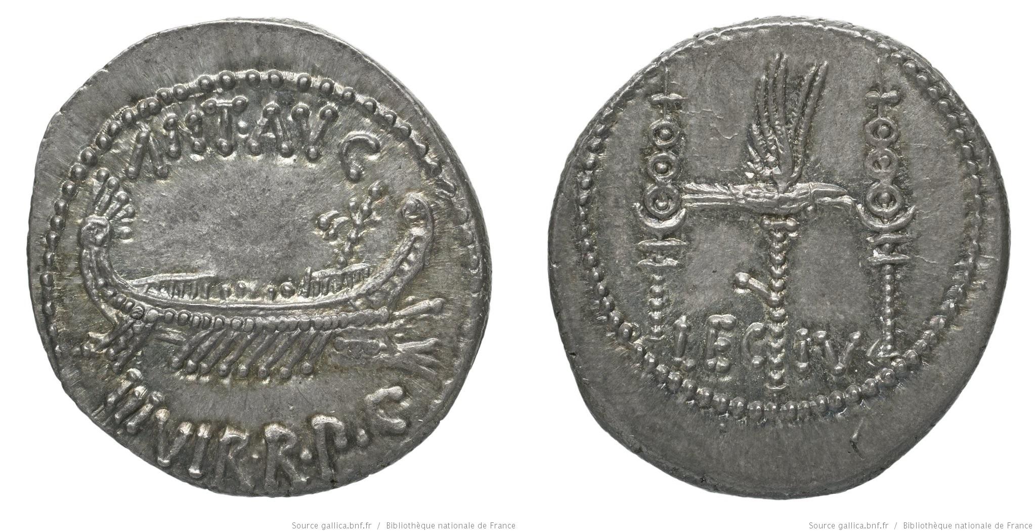 1767AN – Denier Marc Antoine – Marcus Antonius