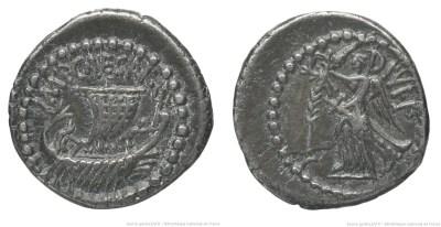 1742JU – Quinaire Octave – Caius Julius Cæsar Octavianus