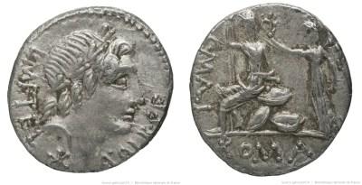 1177CA – Denier Caecilia – Lucius Cæcilius Metellus