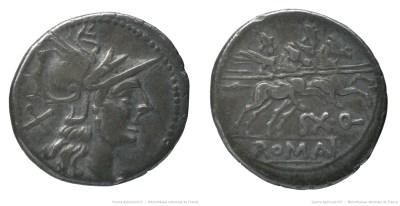 620QU – Denier Quinctilia – Sextus Quinctilius