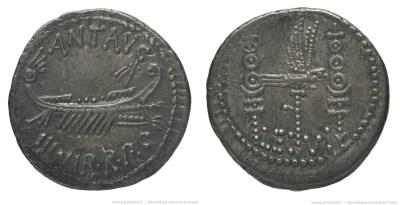 1769AN – Denier Marc Antoine – Marcus Antonius