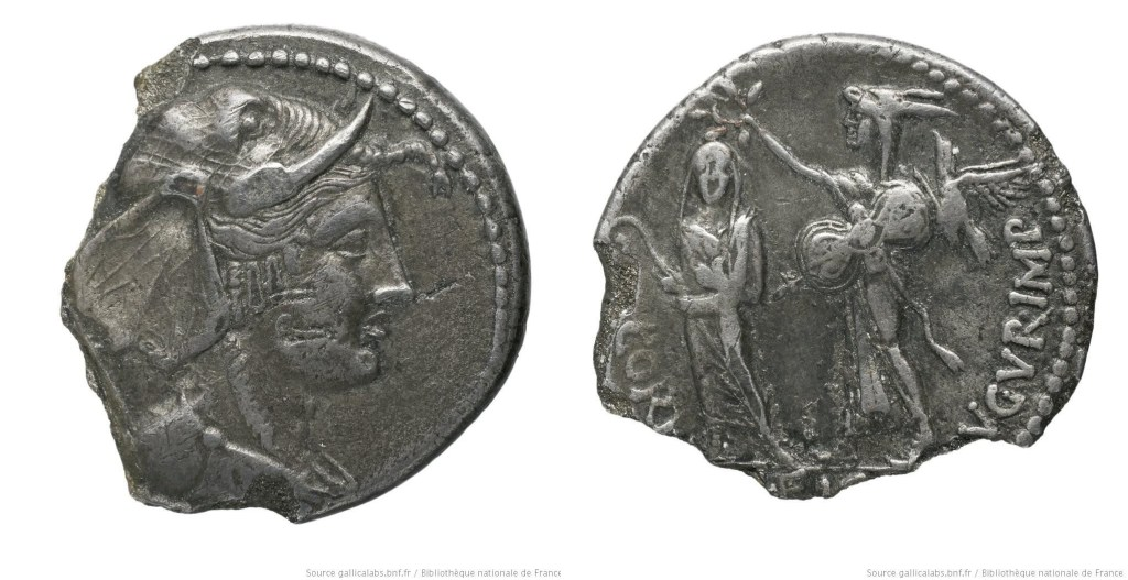 1663CO – Denier Cornuficia – Quintus Cornuficius