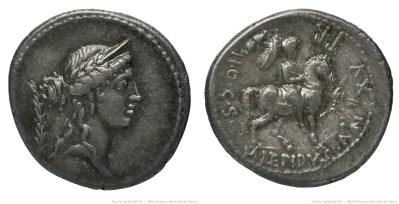 1382AE – Denier Aemilia – Marcus Æmilius Lepidus