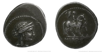 1381AE – Denier Aemilia – Marcus Æmilius Lepidus