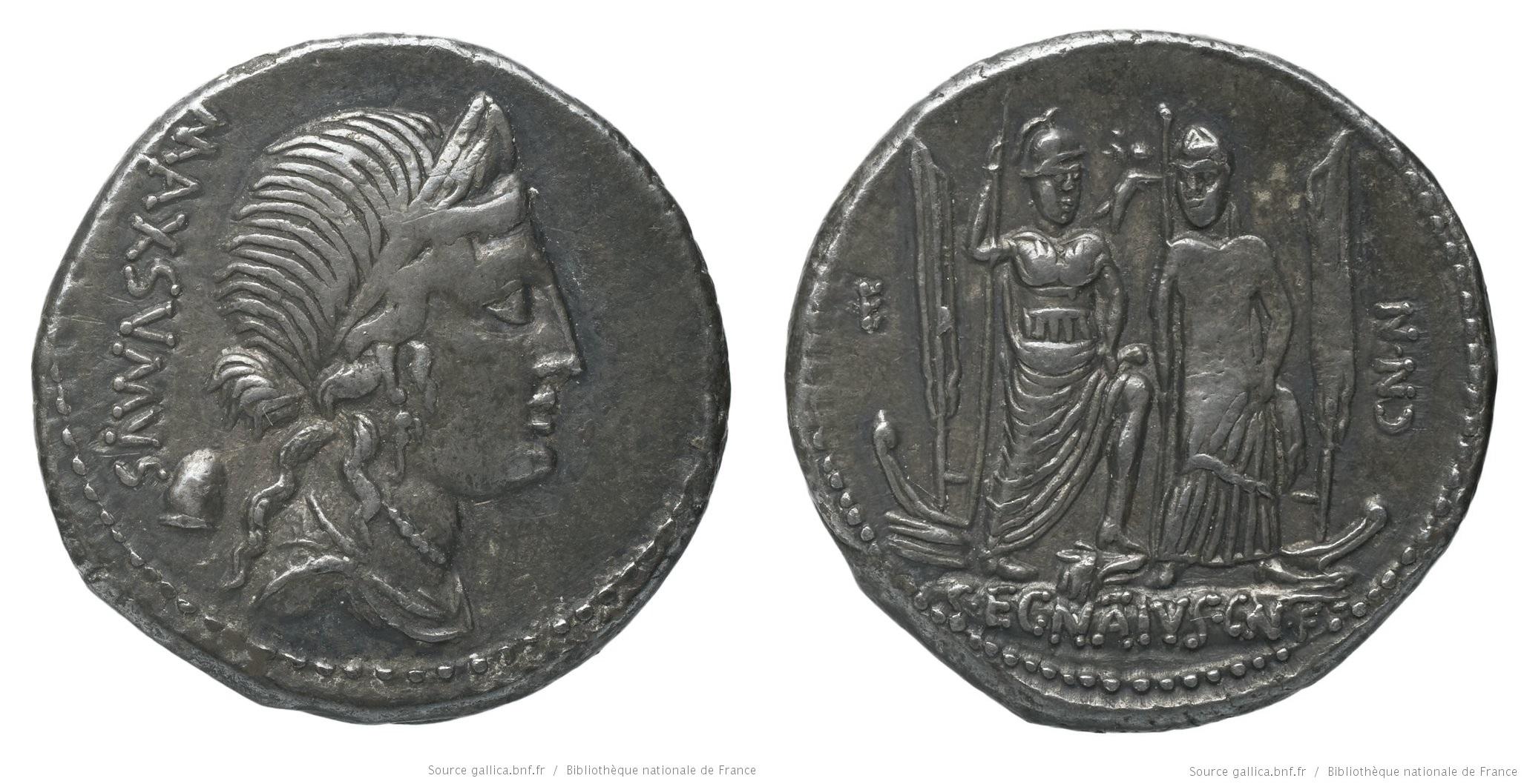 1330EG – Denier Egnatia – Caius Egnatius Maxsumus