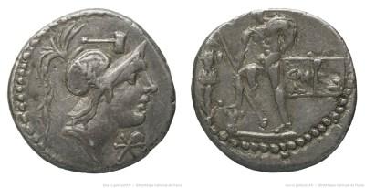 1180PO – Denier Poblicia – Caius Publicius Malleolus