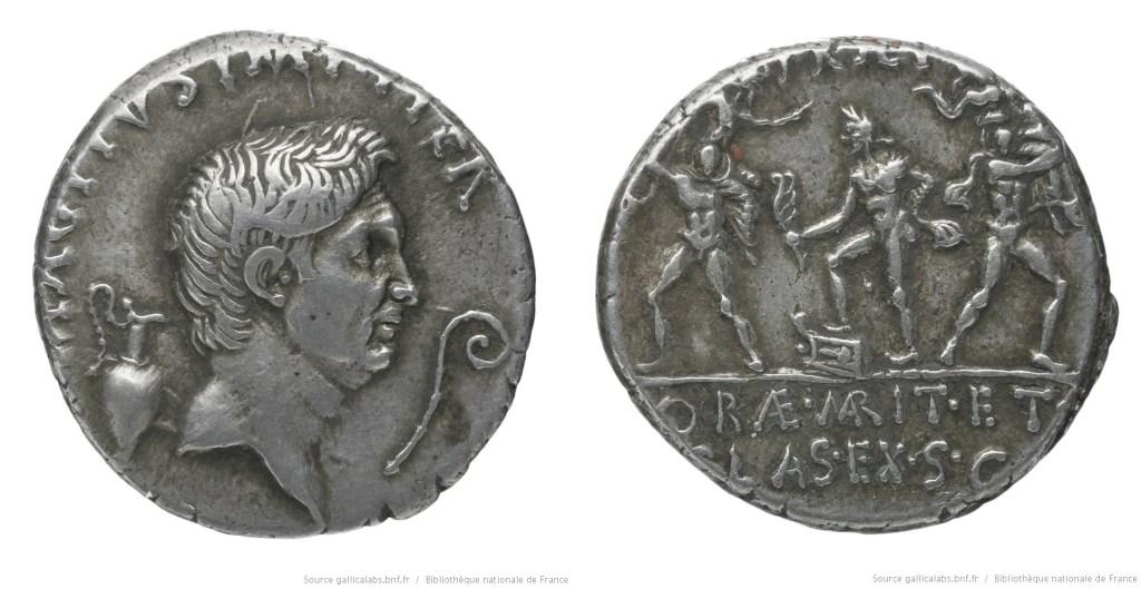 1669PO – Denier Sextus Pompée – Sextus Pompeius Magnus