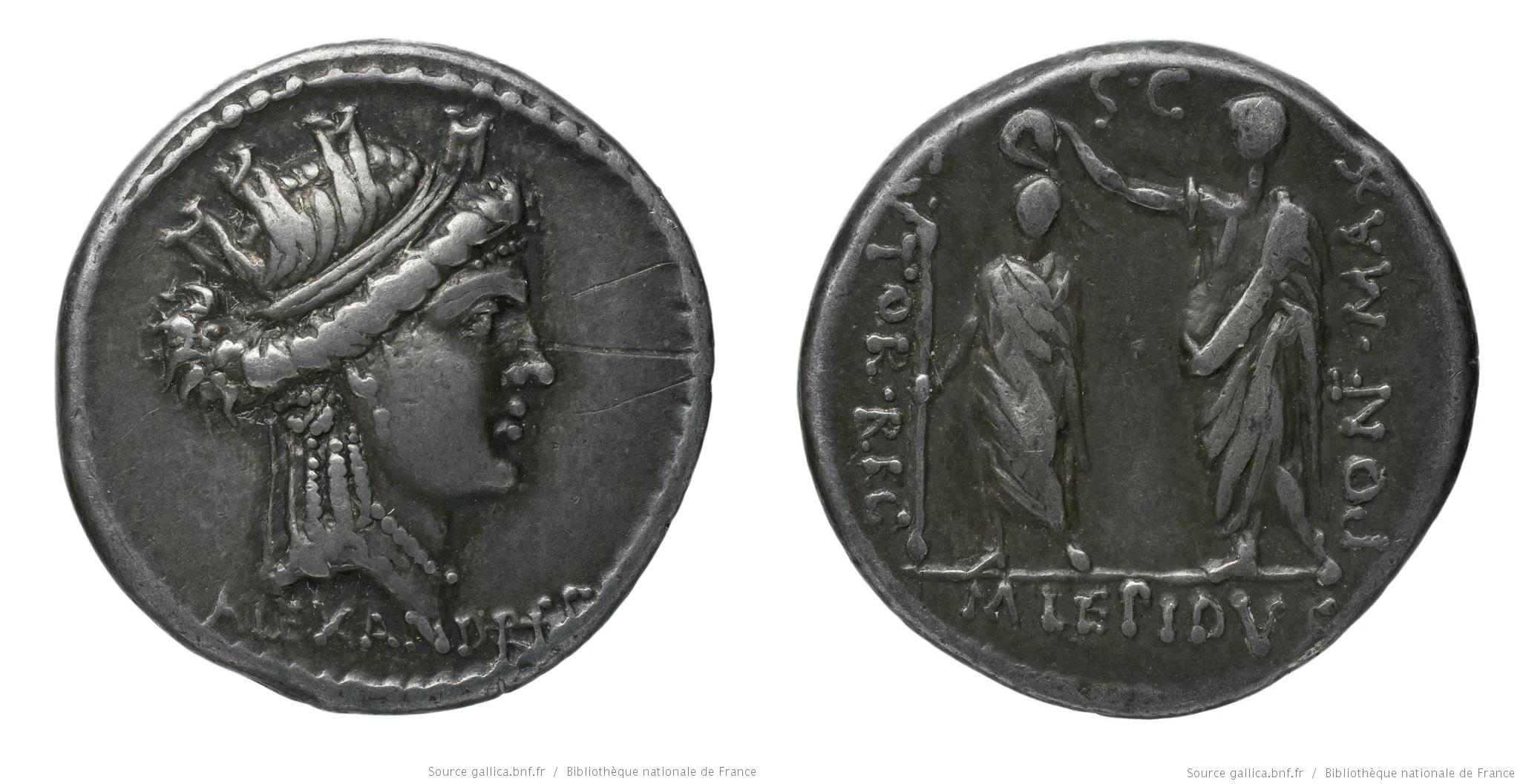 You are currently viewing 1385AE – Denier Aemilia – Marcus Æmilius Lepidus