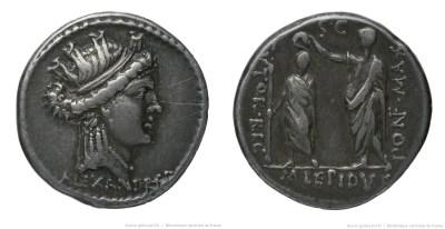 1385AE – Denier Aemilia – Marcus Æmilius Lepidus