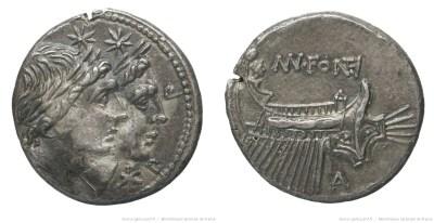 1124FO – Denier Fonteia – Manius Fonteius