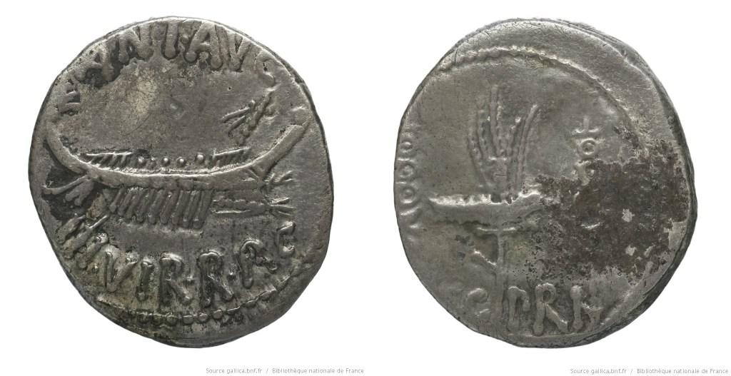 1763AN – Denier Marc Antoine – Marcus Antonius