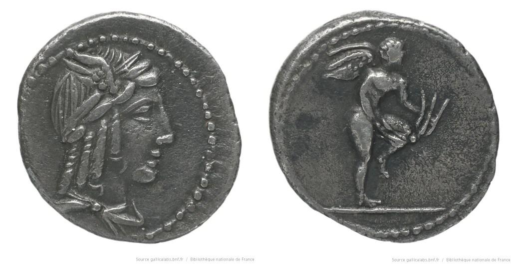 1267JU – Quinaire Julia – Lucius Julius Bursio